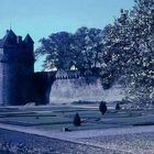 Die Stadtmauer von Vannes
