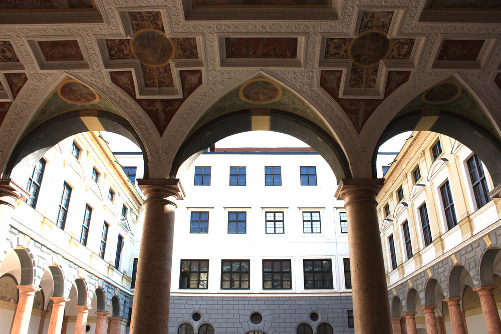 Die Stadtresidenz von Landshut s.u.