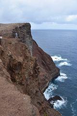 Die Steilküste der Ponta de Sao Lourenco