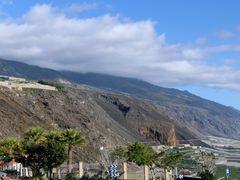 Die Steilküste oberhalb Puerto Naos