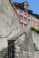 Die steinerne Mauer in Meersburg