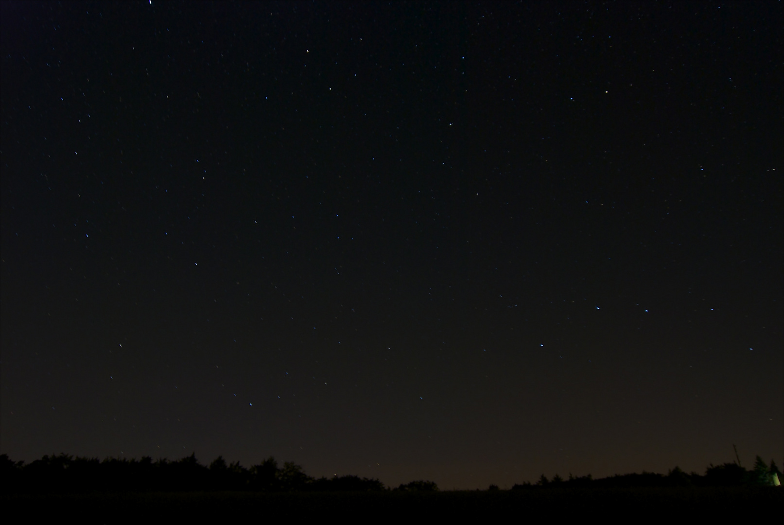Die Sternschnuppen können kommen