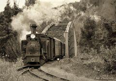 die Steyrtal-Museumsbahn ...