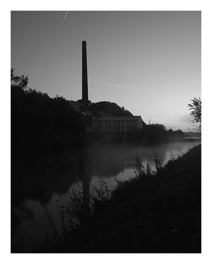 Die Stille an der Ruhr...