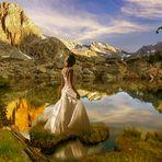 Die Stille der Berge ....