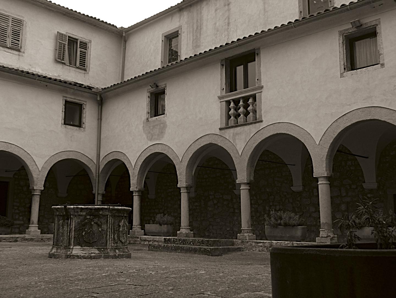 Die Stille eines Klosters 2