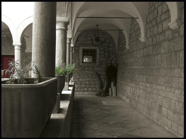 Die Stille eines Klosters