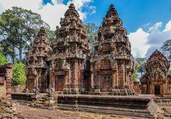 ...die stillen Wächter des Banteay Srei...