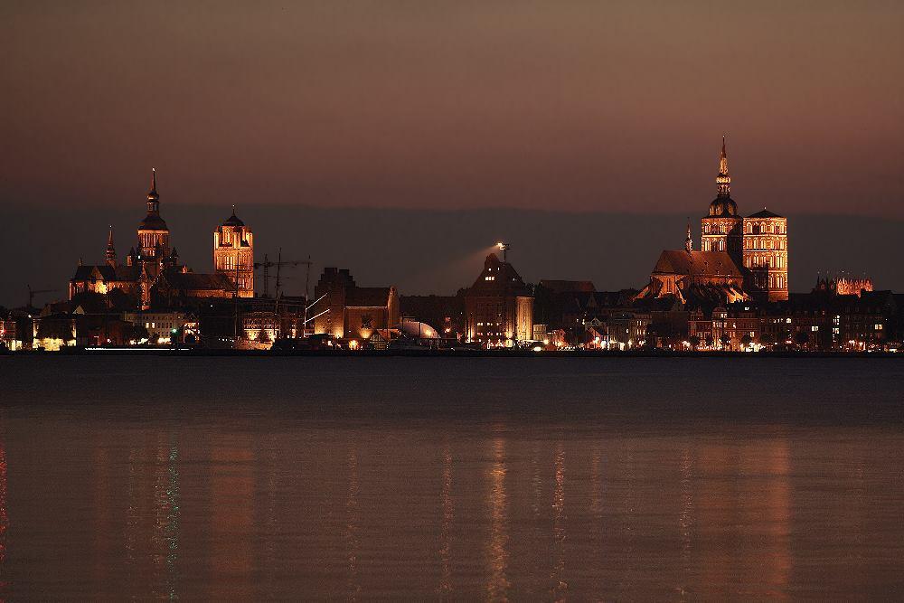 Die Stralsunder Skyline...