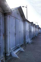 Die Strandhütten von Luc sur Mer