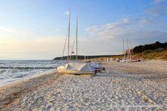 Die Strandruhe vor der Saison