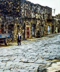 Die Straße in Shaga.  .120_4260