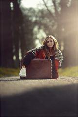 * die Straße, mein Koffer und ich *