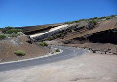 Die Straße zum höchsten Punkt Spaniens
