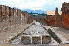 Die Straßen von Pompeji