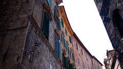 Die Straßen von Siena