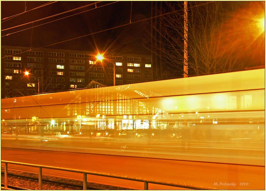 Die Straßenbahn mit dem Durchblick