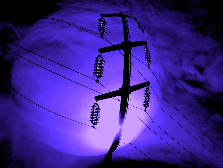 die Stromleitung