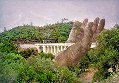 Die stützende Hand -