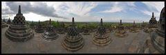 Die Stupas von Borobodur