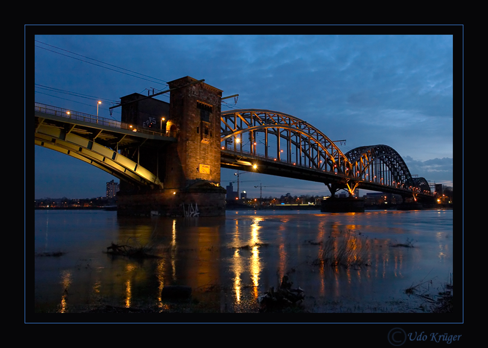 Die Südbrücke in Köln Poll #5