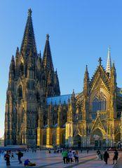Die Südseite des Kölner Doms