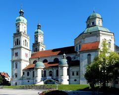 Die Südseite von St.Lorenz...