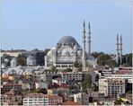 Die Süleymaniye Camii und ihre Minarette