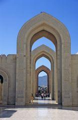 Die Sultan Qaboos Grand Mosque in Muscat