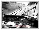 Die tägliche Aussicht eines Lokführers