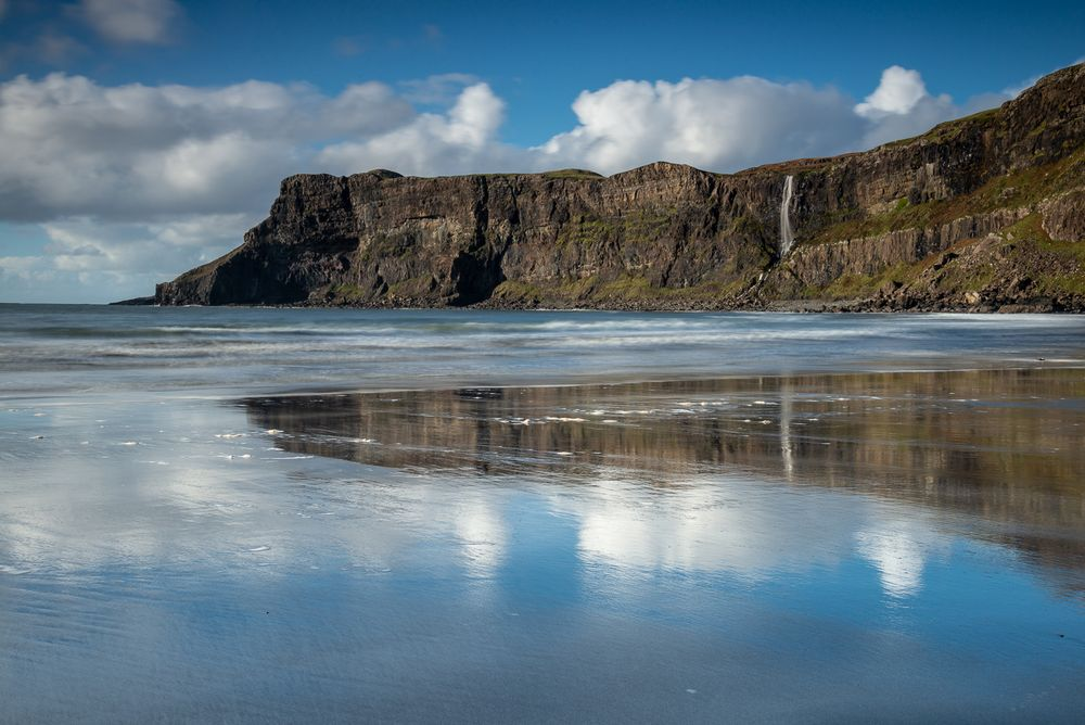 Die Talisker Bay in Schottland