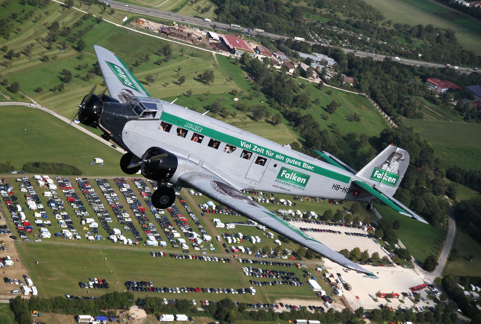 Flugzeuge Im Anflug Auf Frankfurt