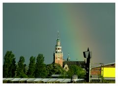 Die Taube und der Regenbogen