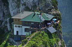 Die Tegernseer Hütte...