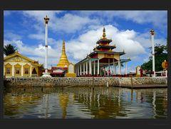 Die Tempel des Inle Sees