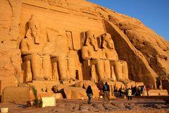Die tempel von Abu Simbel 2