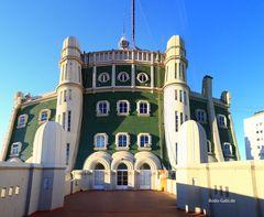 Die Terrasse des Palacio Barolo