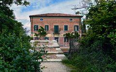 """Die Teufelsbrücke (""""Ponte del Diavolo"""") auf der Laguneninsel Torcello"""