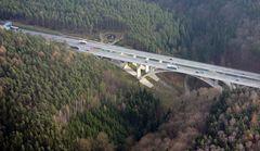 Die Teufelstalbrücke ander BAB 4