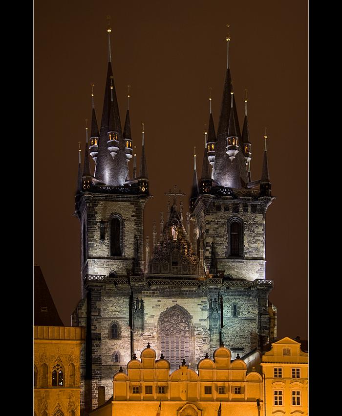 Die Teynkirche am Altstädter Ring