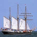Die -- Thor Heyerdahl -- am 1.5. 2012 auf der Kieler Förde