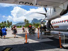 Die -Tiairani- auf Bora Bora