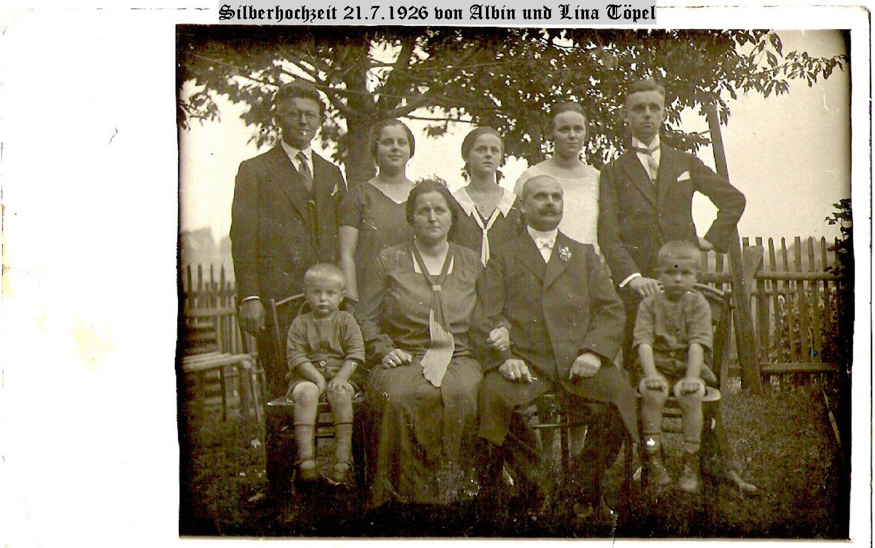 Die Töpels in Zschernitzsch/Altenburg