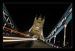 die Tower Bridge....