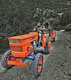 Die Traktorfahrt