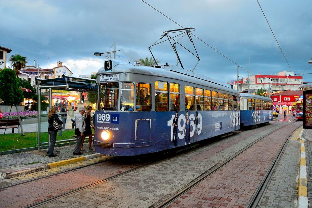 Die Tram ....