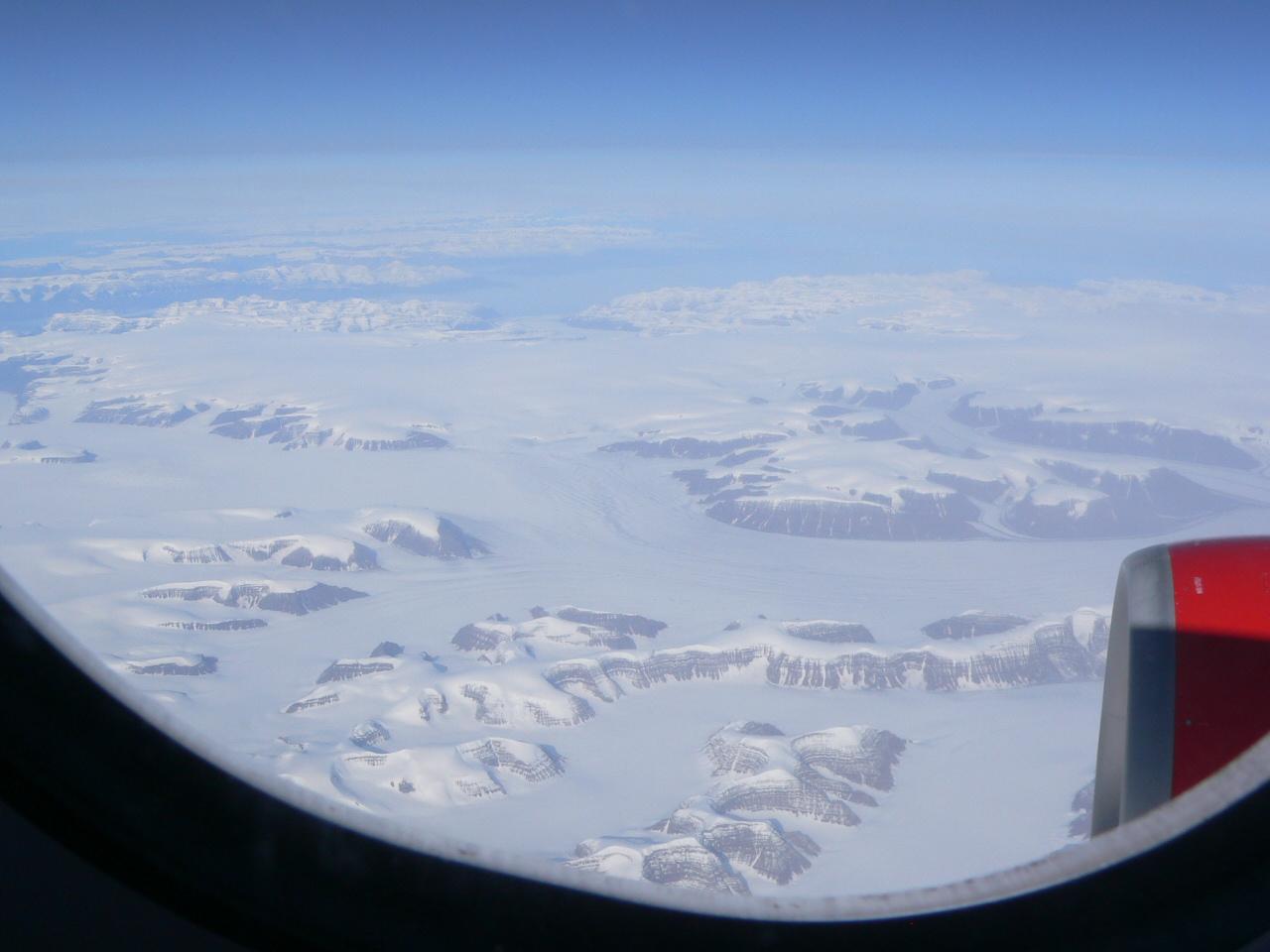 Die traurigen Überreste der Grönland-Gletscher