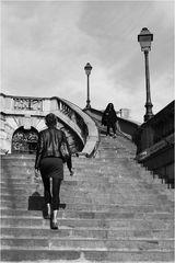 ...die Treppe beim Gare de l'Est ...