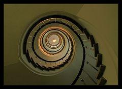 Die Treppe im alten Hotel