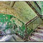 Die Treppe im Frauenhaus Beelitz